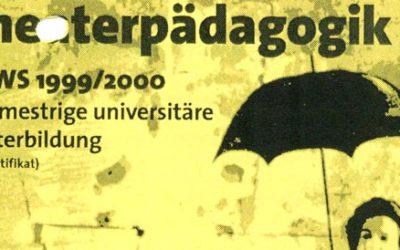 Dozentin für praktische Theaterarbeit an der J. W. Goethe-Universität Frankfurt